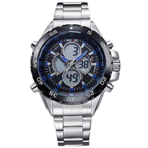 Relógio Masculino Weide Anadigi WH-1103 Azul