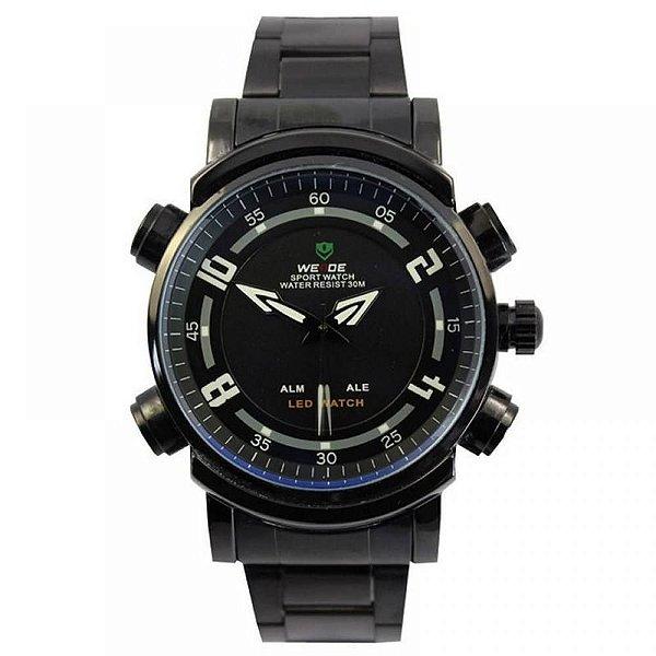 Relógio Masculino Weide AnaDigi Esporte WH-1101 Preto
