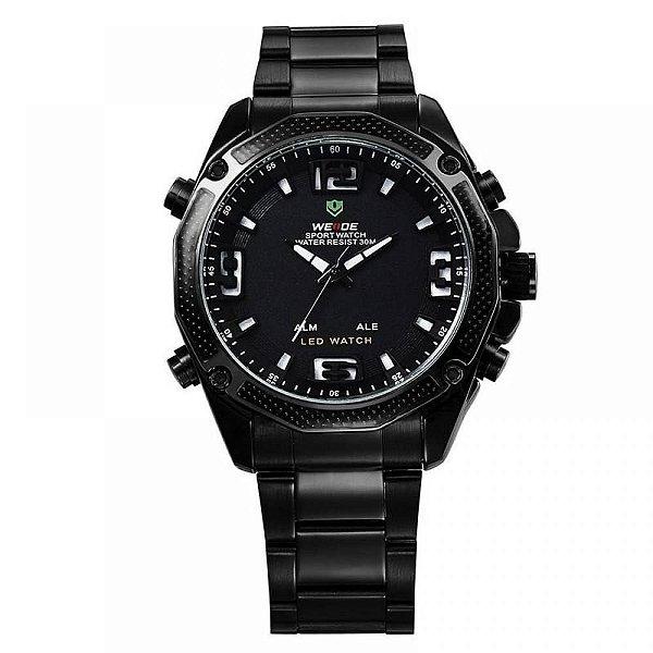 Relógio Masculino Weide AnaDigi Esporte WH-2306 Preto