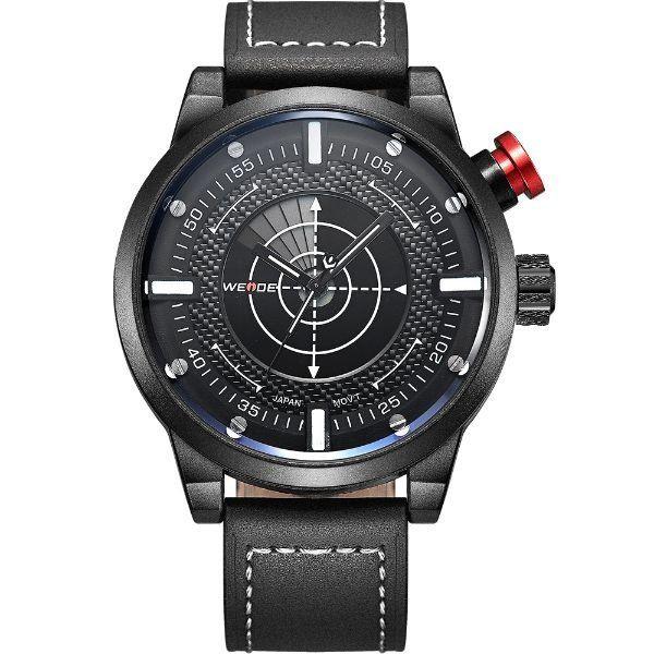 Relógio Masculino Weide Analógico WH-5201 Preto e Branco