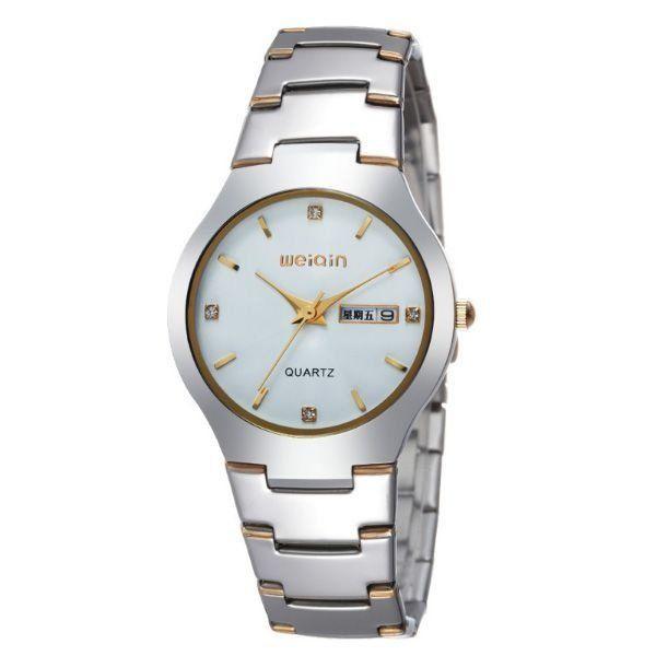 Relógio Masculino Weiqin Analógico W4164AG Branco