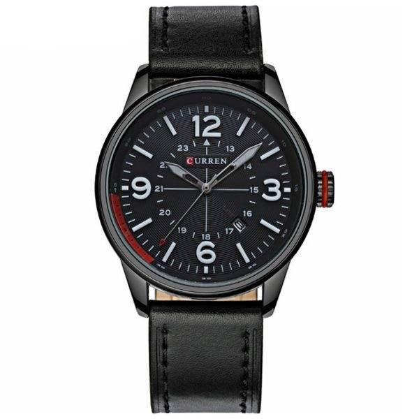 Relógio Masculino Curren Analógico 8215 Preto