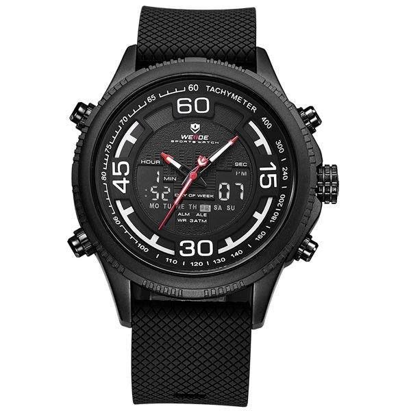 Relógio Masculino Weide Anadigi WH-6306 Preto