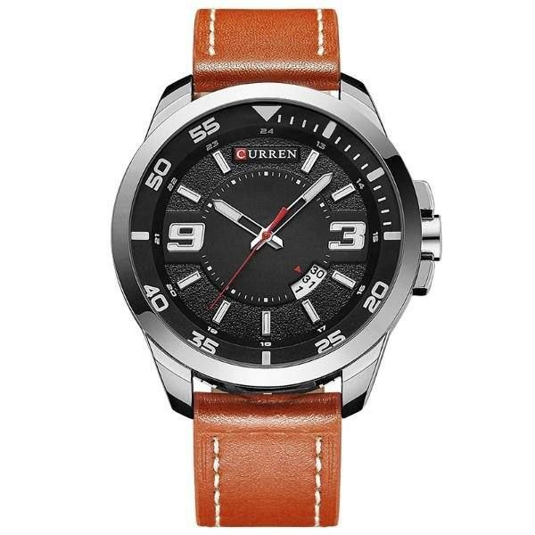 Relógio Masculino Curren Analógico 8213 Prata
