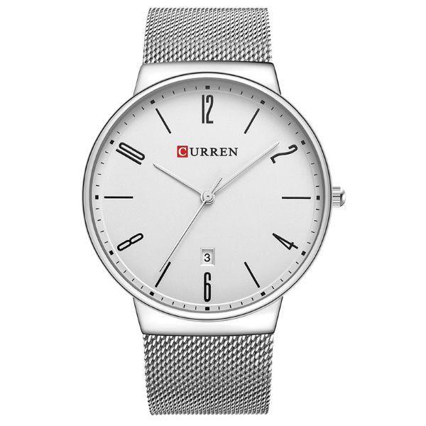 Relógio Masculino Curren Analógico 8257 Branco