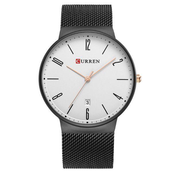 Relógio Masculino Curren Analógico 8106 Preto