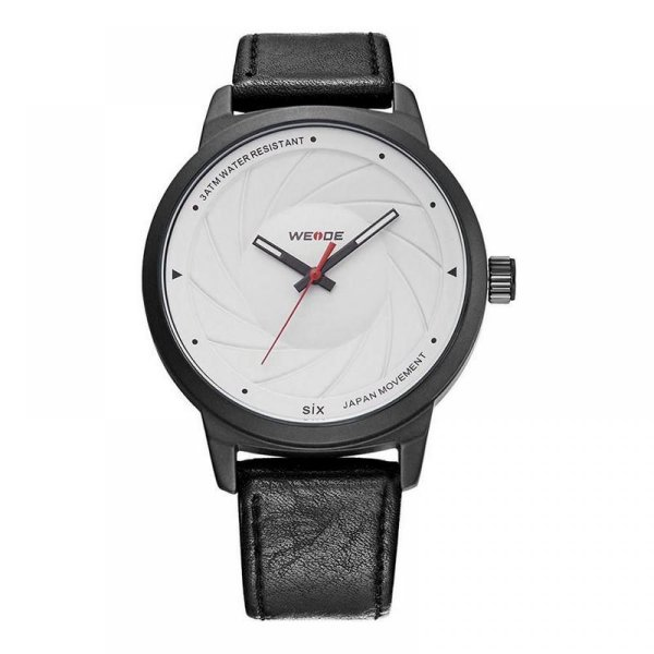 Relógio Masculino Weide Analógico WD005 Preto e Branco