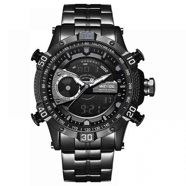 Relógio Masculino Weide AnaDigi WH-6902 - Preto