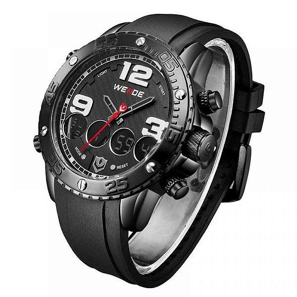 Relógio Masculino Weide Anadigi WH-3405 - Preto