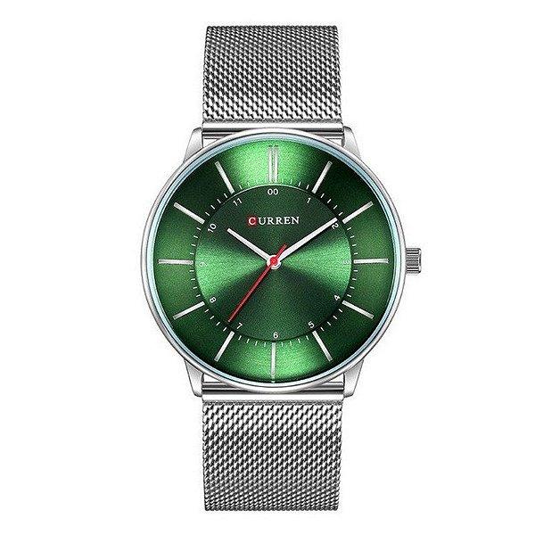 Relógio Masculino Curren Analógico 8303 - Prata