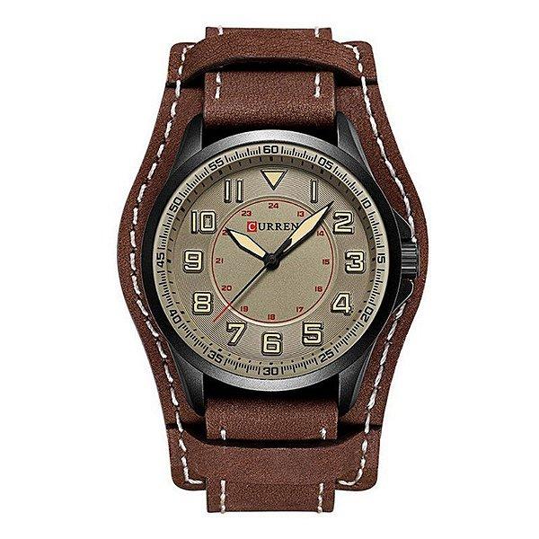 Relógio Masculino Curren Analógico 8279 - Marrom