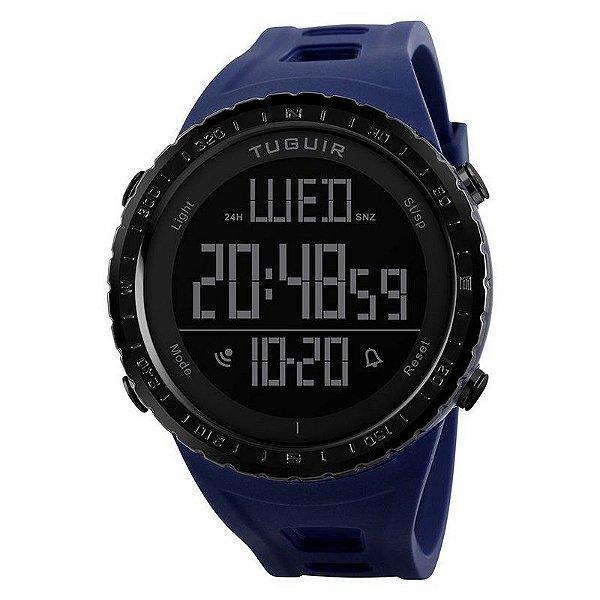 Relógio Masculino Tuguir Digital TG1246 Azul