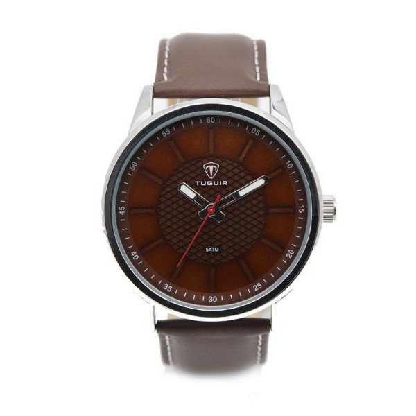 Relógio Masculino Tuguir Analógico 5051 Marrom