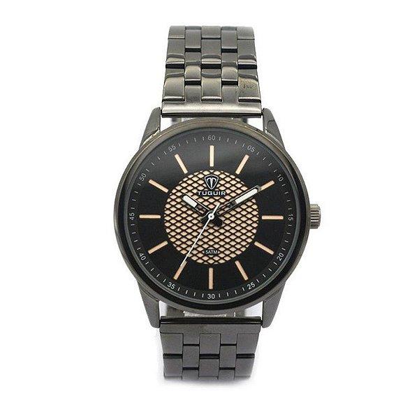 Relógio Masculino Tuguir Analógico 5052 Preto