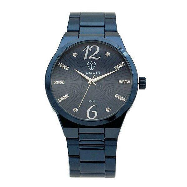 Relógio Feminino Tuguir Analógico 5440G Azul