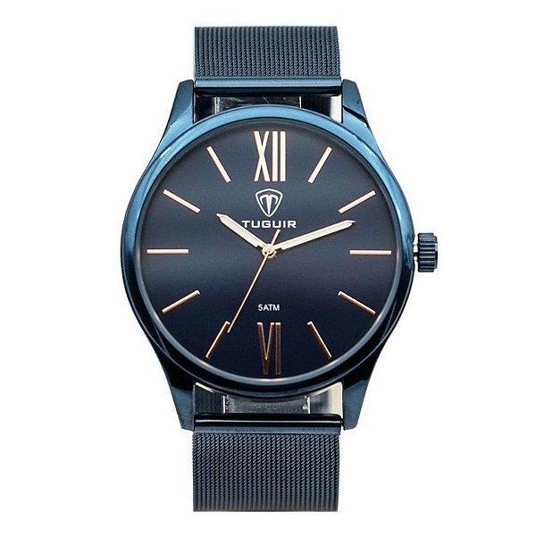 Relógio Masculino Tuguir Analógico 5316G - Azul