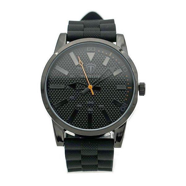 Relógio Masculino Tuguir Analógico 5443G Preto