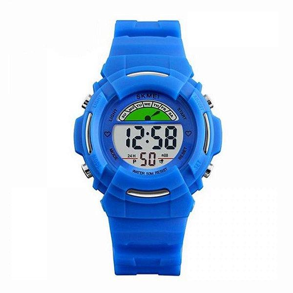Relógio Infantil Skmei Digital 1272 Azul