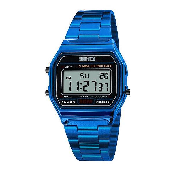 Relógio Feminino Skmei Digital 1123 - Azul