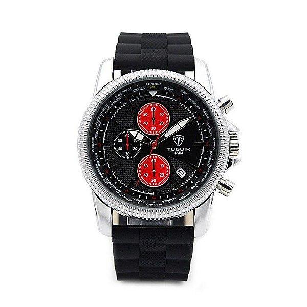 Relógio Masculino Tuguir Analógico 5009 Preto