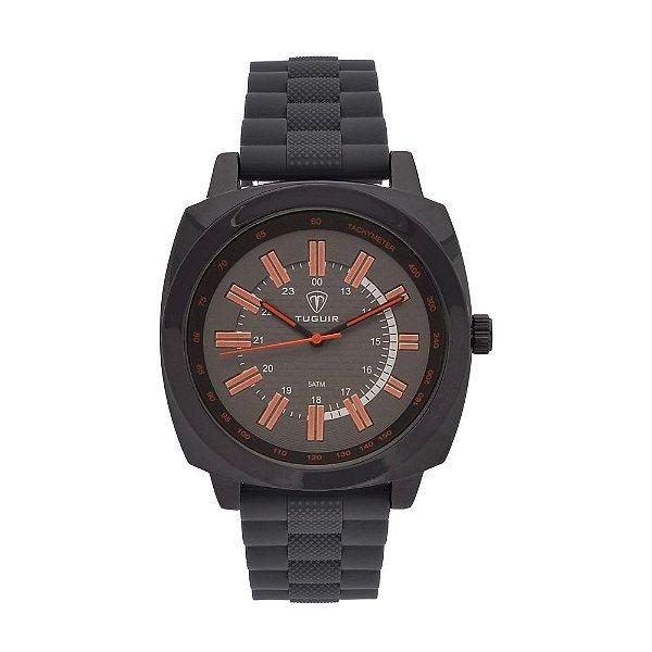 Relógio Masculino Tuguir Analógico 5014 Cinza