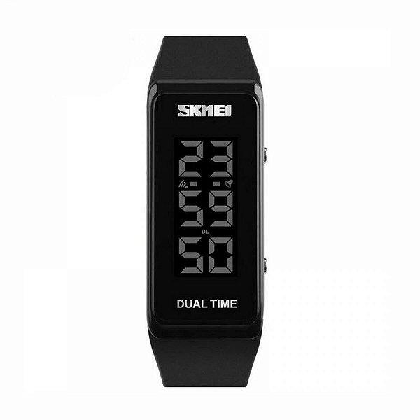 Relógio Masculino Skmei Digital 1277 Preto