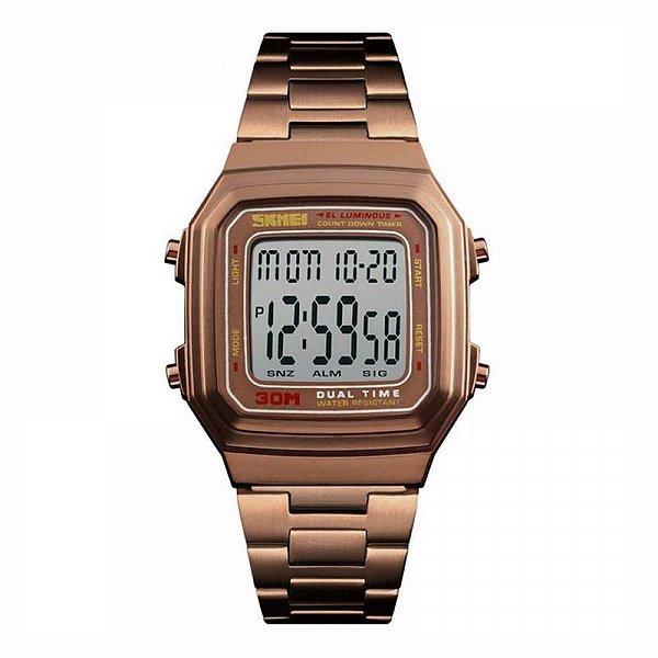 Relógio Masculino Skmei Digital 1337 - Café