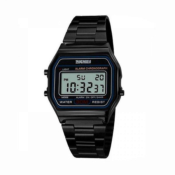 Relógio Feminino Skmei Digital 1123 - Preto