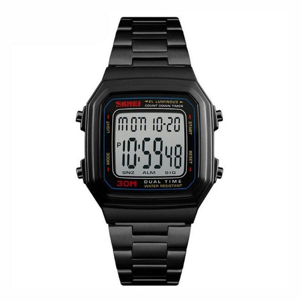 Relógio Masculino Skmei Digital 1337 - Preto
