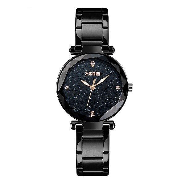 Relógio Feminino Skmei Analógico 9180 - Preto
