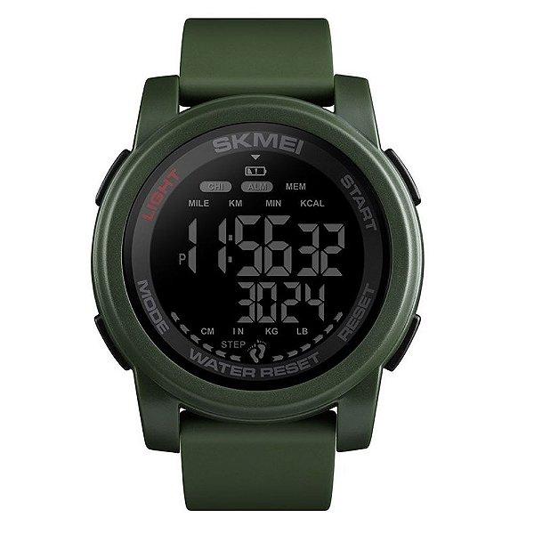 Relógio Masculino Skmei Digital 1469 - Verde e Preto