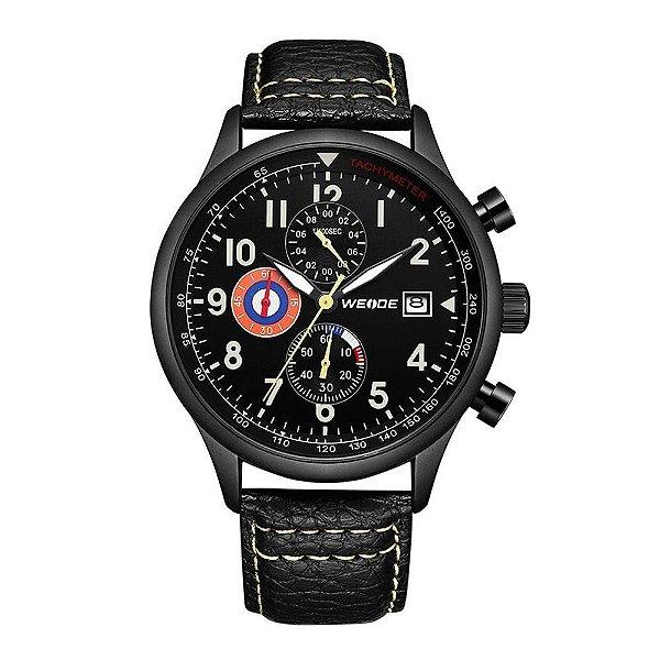 Relógio Masculino Weide Analógico WD010 - Preto