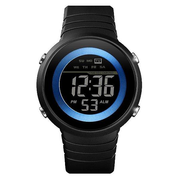 Relógio Unissex Skmei Digital 1497 - Preto e Azul