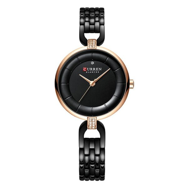 Relógio Feminino Curren Analógico C9052L - Preto