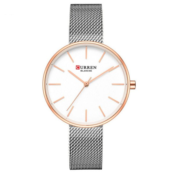 Relógio Feminino Curren Analógico C9042L - Prata