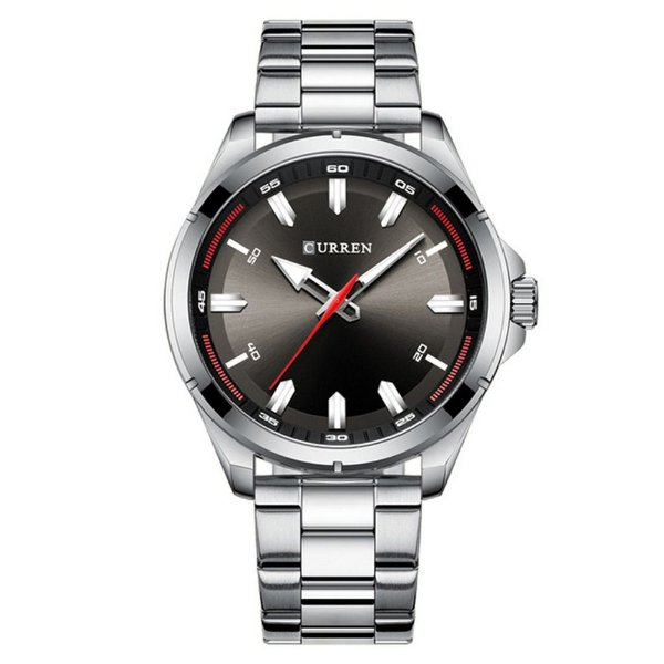 Relógio Masculino Curren Analógico 8320 - Prata