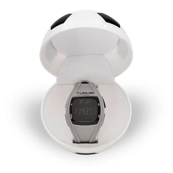 Relógio Masculino Tuguir Digital TG1801 - Cinza e Preto