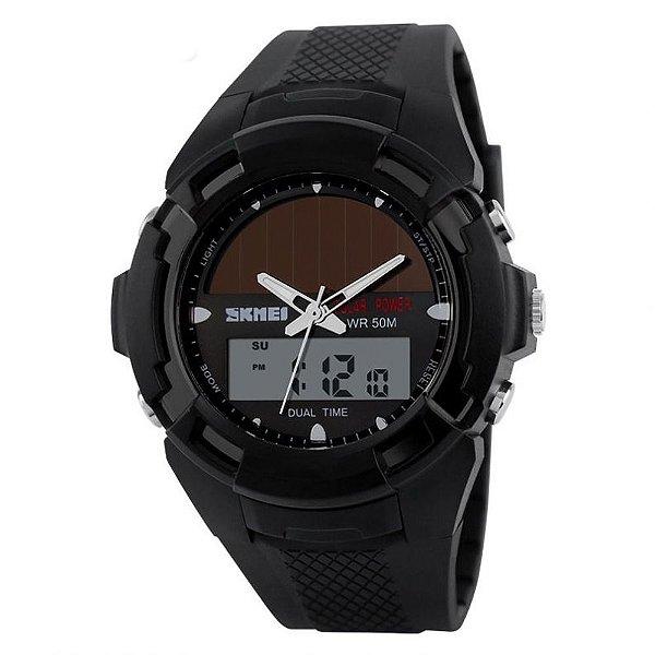 Relógio Masculino Skmei AnaDigi 1056 - Preto