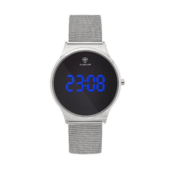 Relógio Feminino Tuguir Digital TG107 - Prata