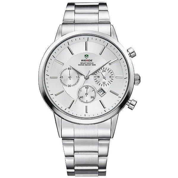 Relógio Masculino Weide Analógico WH-3312 - Prata