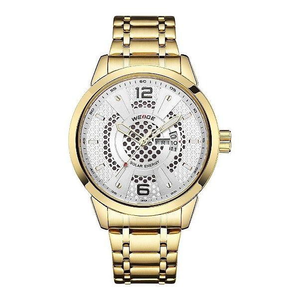 Relógio Masculino Weide Analógico SE0703 - Dourado e Prata