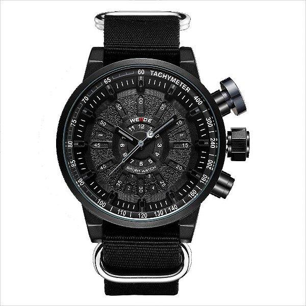Relógio Masculino Weide Analógico WH7306 - Preto e Cinza