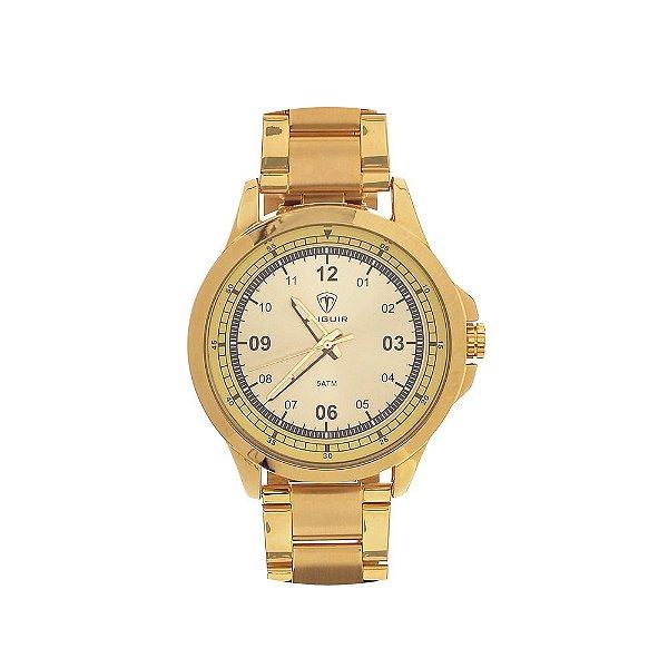 Relógio Masculino Tuguir Analógico TG100 - Dourado
