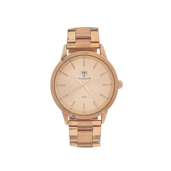 Relógio Feminino Tuguir Analógico TG106 - Rose