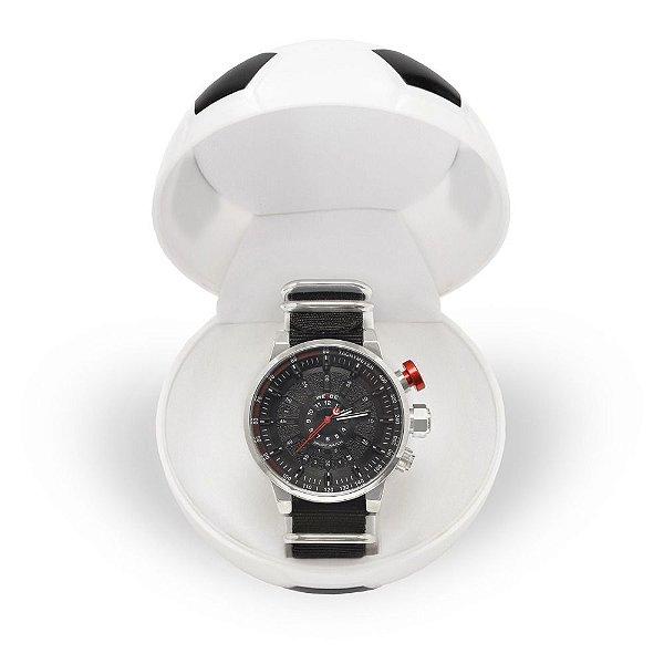 Relógio Masculino Weide Analógico WH7306 - Preto e Prata