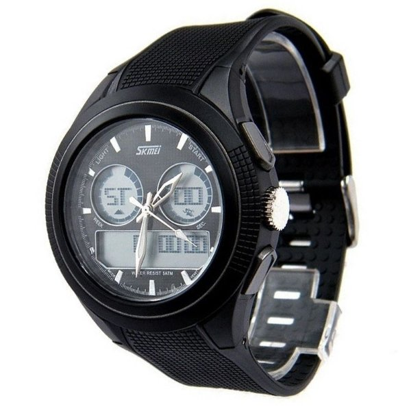 Relógio Masculino Skmei Anadigi 0957 Preto