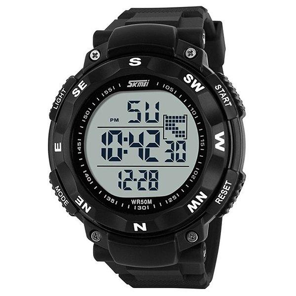 Relógio Masculino Skmei Digital 1024 Preto