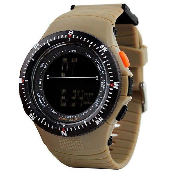 Relógio Masculino Skmei Digital 0989 Marrom