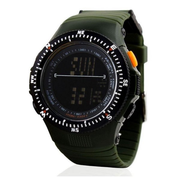 Relógio Masculino Skmei Digital 0989 Verde