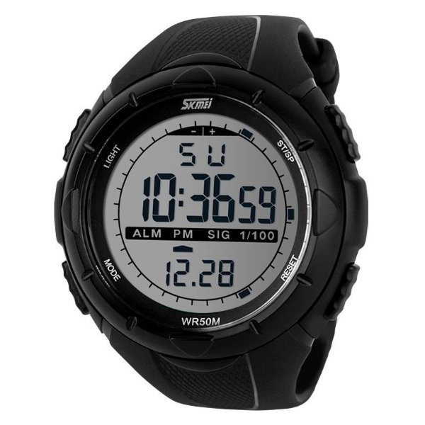 Relógio Masculino Skmei Digital 1025 - Preto